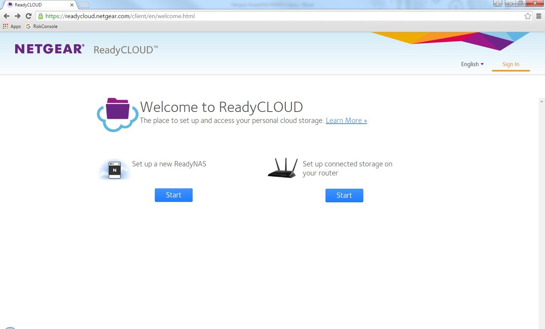 ReadyCloud Screen