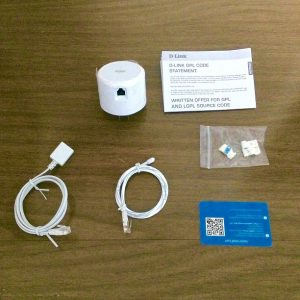 D-Link Wi-Fi Water Sensor Unboxing