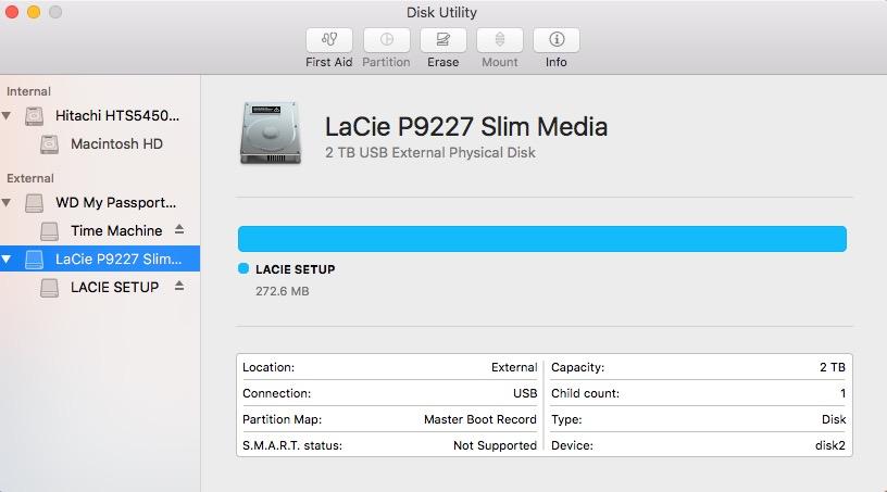 lacie setup assistant download
