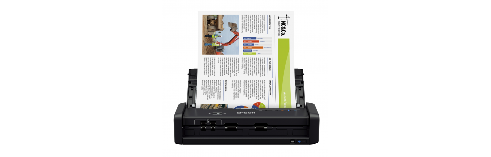 Epson Introduces Two Portable Document Scanners