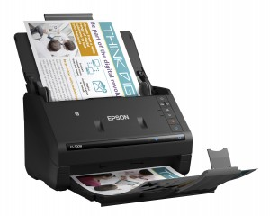 Epson ES-500W Wireless Duplex Scanner Image