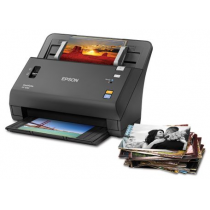 Epson FastFoto FF-640 with Stack
