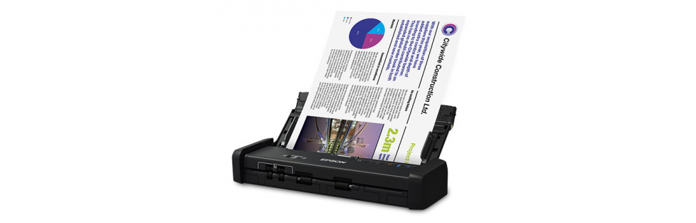 Epson Introduces the DS-320 Portable Document Scanner