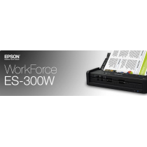 Epson WorkForce ES-300W Banner