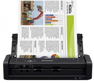 Epson WorkForce ES-300W Wireless Color Portable Document Scanner Image