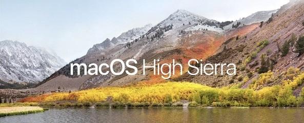 macOS - High Sierra