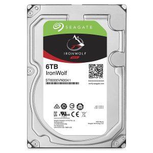 Seagate 2TB IronWolf NAS Hard Disk Drive Image