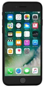 Apple iPhone 7 128 GB Unlocked, Black (Certified Refurbished) Image