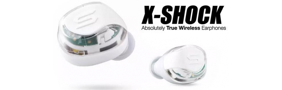 SOUL Electronics Debuts X-SHOCK Transparent –  LED Flashing, Wireless Earphones