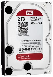 WD Red 2TB NAS Hard Disk Drive Image