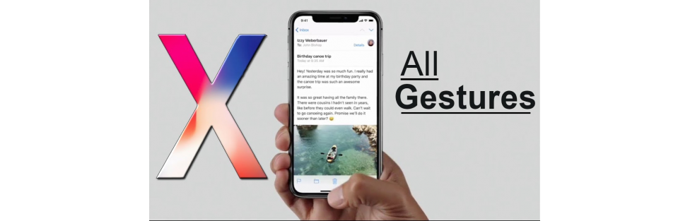 New iPhone X Gesture Guide