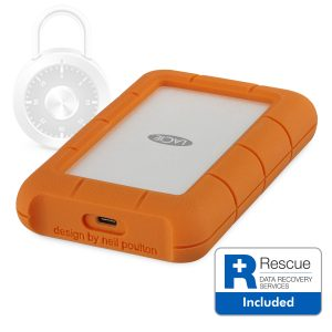 CES 2018 LaCie Rugged Secure Hero