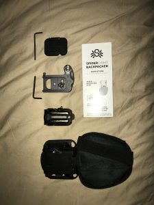 SpiderLight Backpacvk Kit - Unboxing