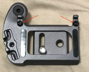 SpiderLight Camera Mounting Plate Bumpers