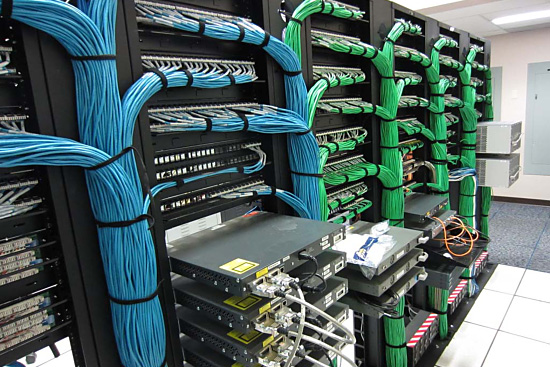 Data Center Cable Dressing