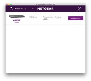 Netgear Switch Discovery Tool