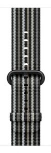 Apple Gray_Black_Stripe