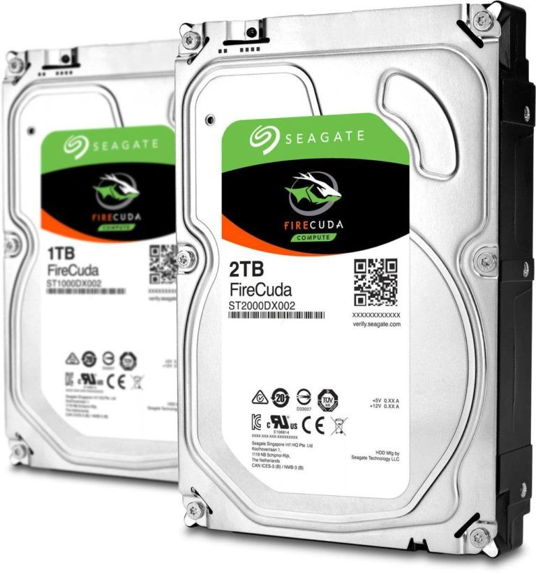 Seagate Firecuda Drives