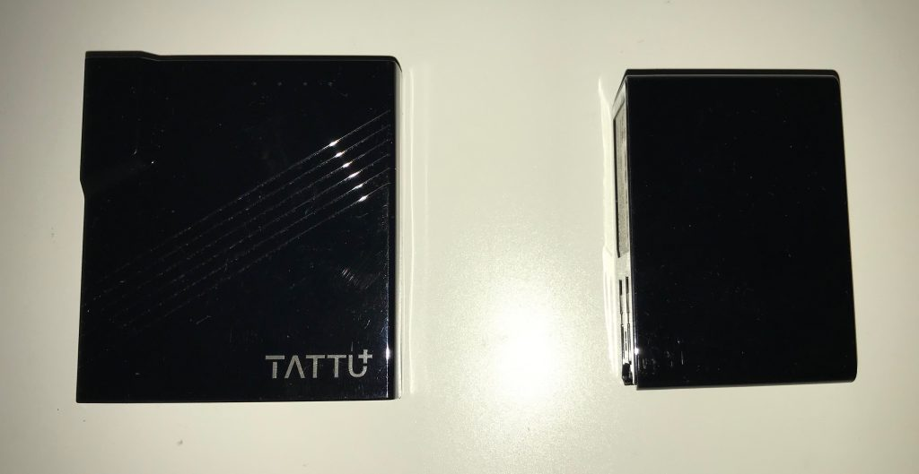 Tattu 2-in-1 Wall Charger and Power Bank