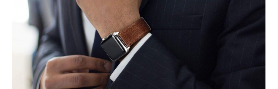 Benuo Leather Watch Bands for Apple Watch
