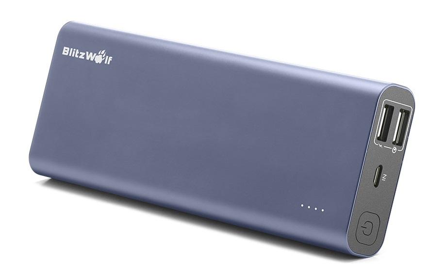 BlitzWolf® BW-P5 15600mAh Quick Charge 3.0 Dual USB Power Bank