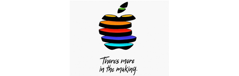 "Apple Media Event – ""There's more in the making."""
