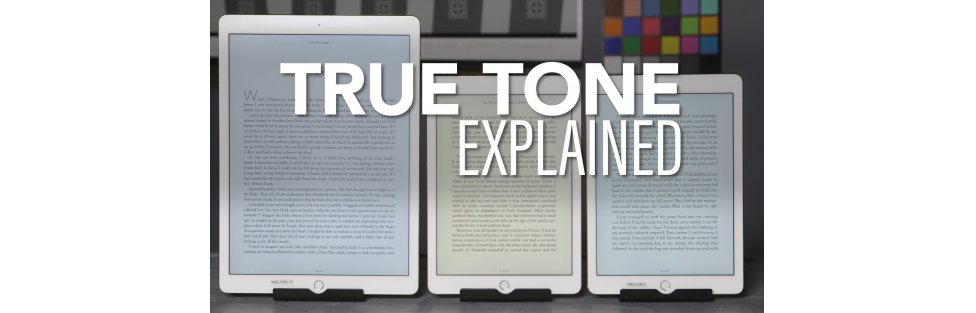 Using Apple's True Tone Display