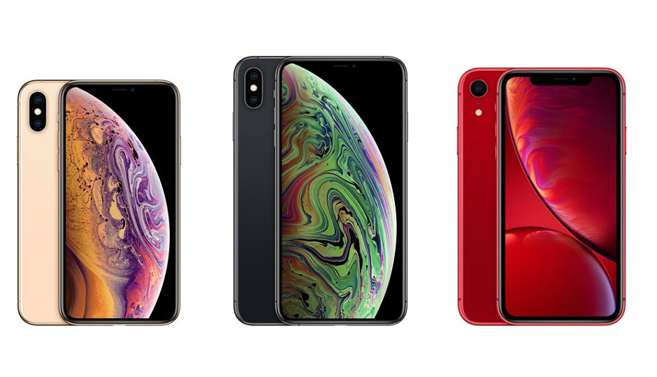 iPhone XS XS Max XR