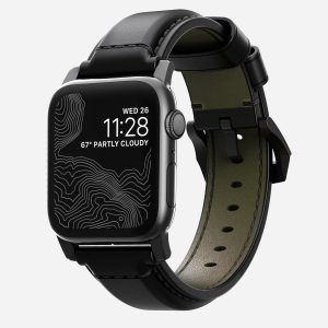 Nomad Shell Cordvan Strap for Apple Watch