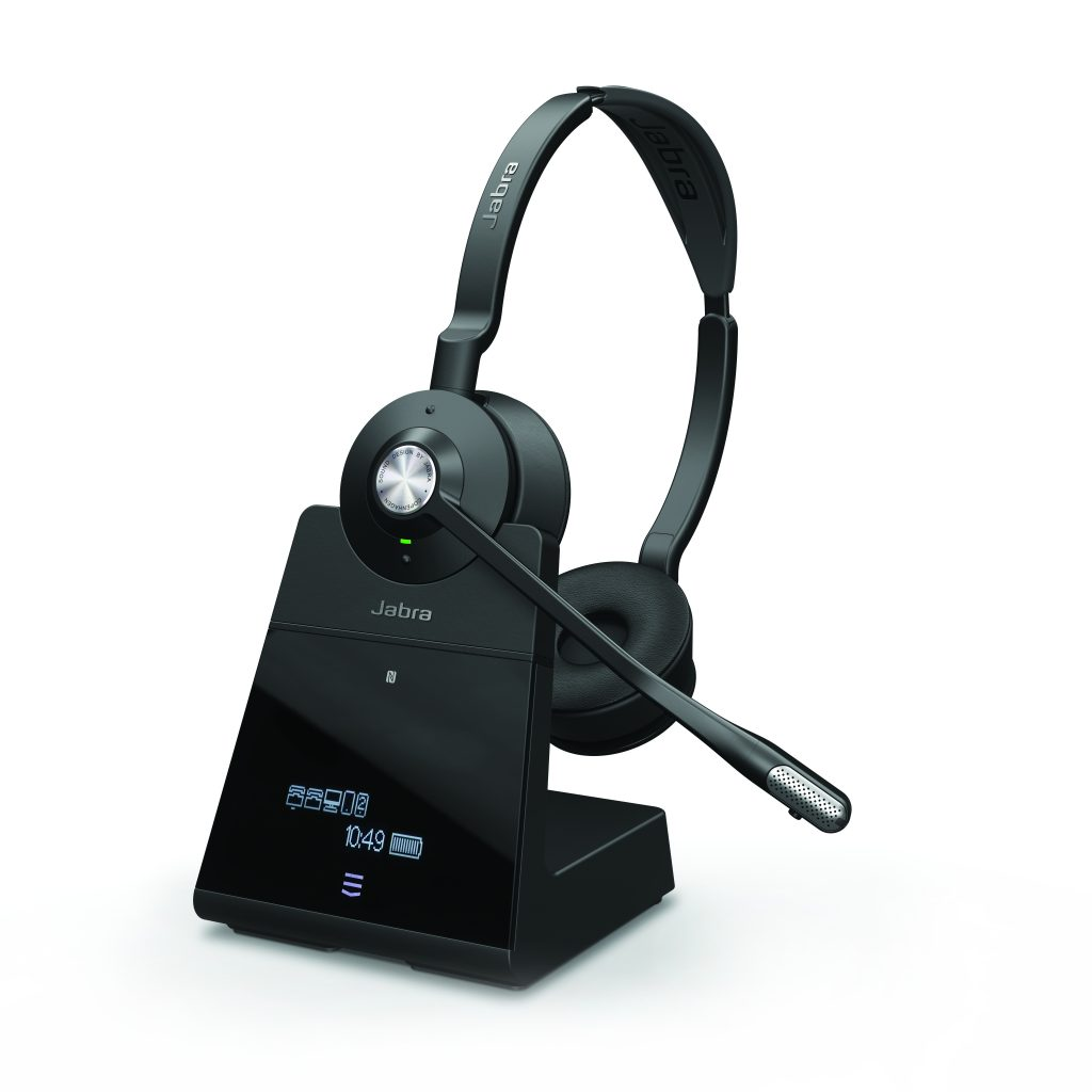 Jabra Engage 75 Stereo_docked