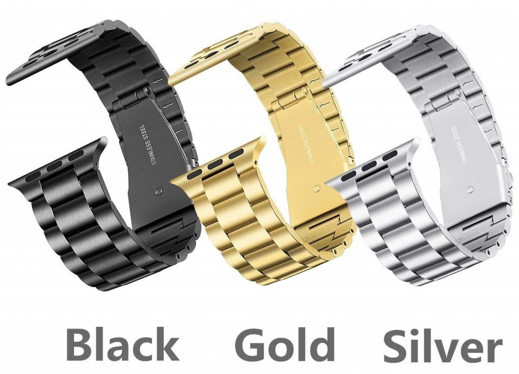 Libra & Gemini Stainless Steel Apple Watch Band Colors
