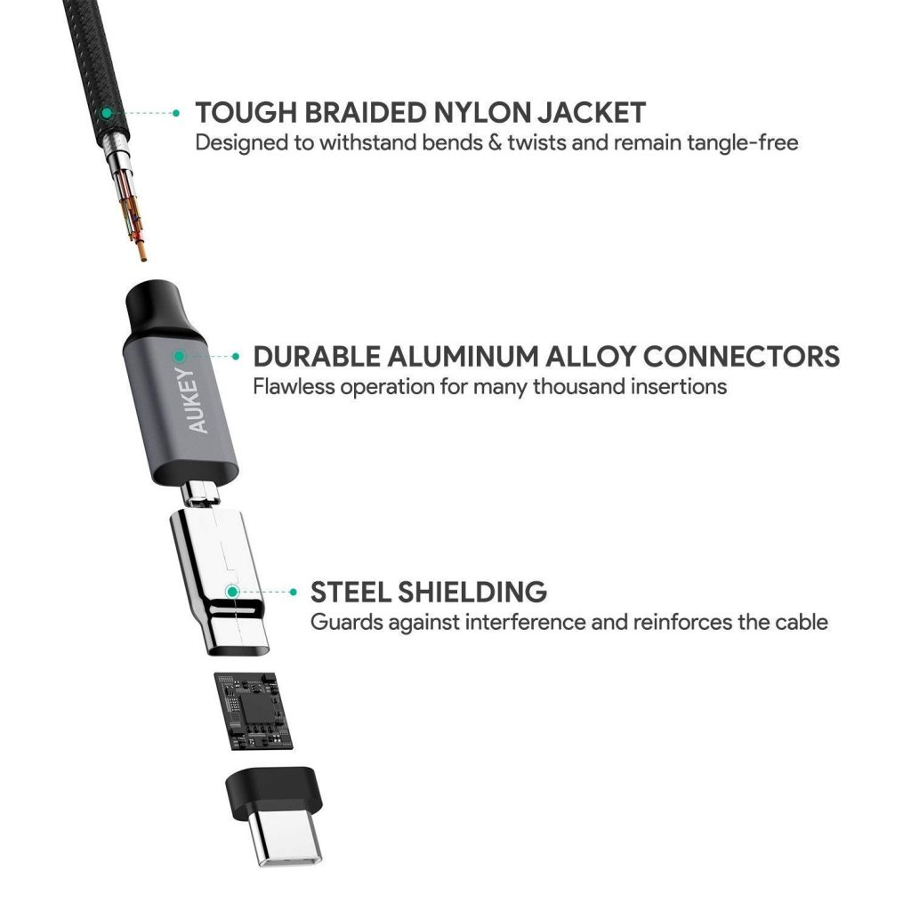 Aukey USB-C Components