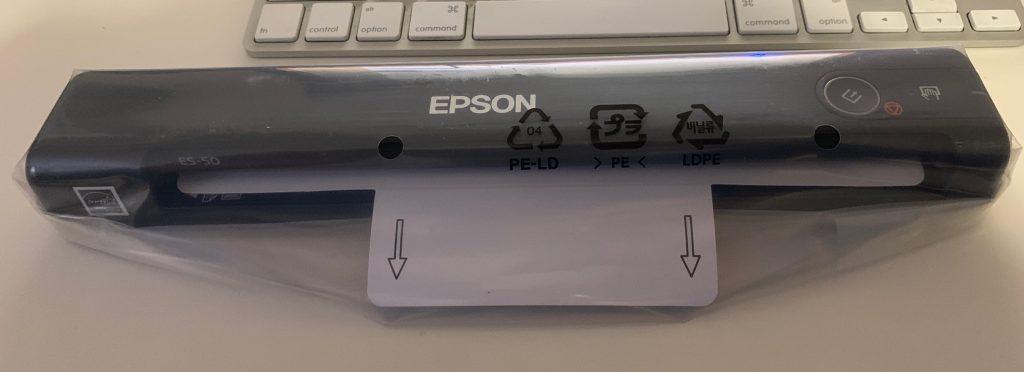 ES-50 Scanner - Unboxing