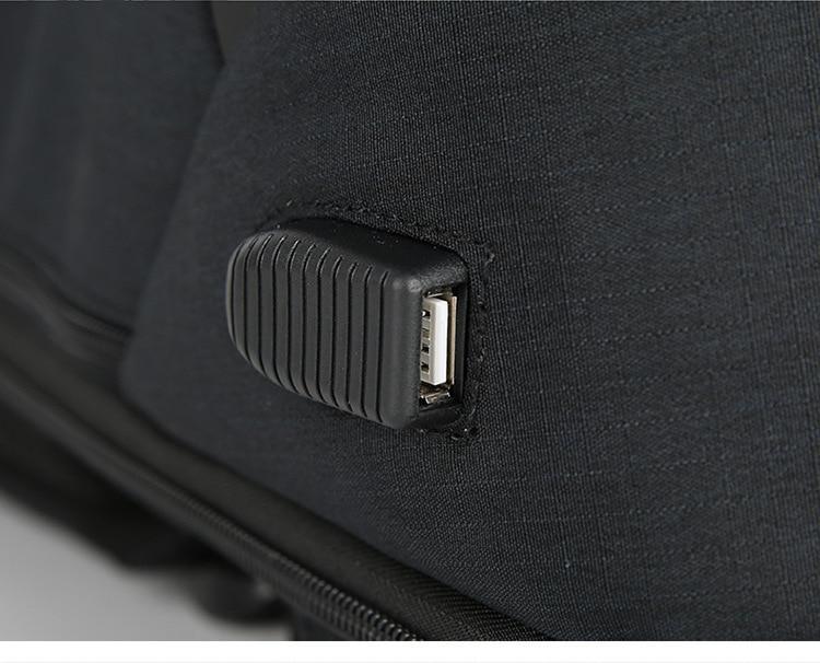 Baibu Backpack - USB Port
