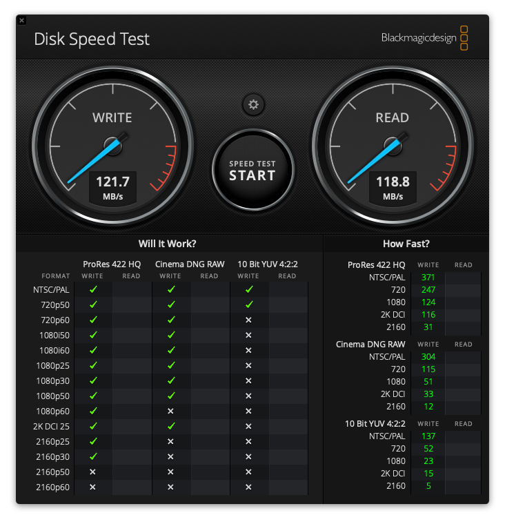 Seagate Backup Plus Disk Speed Test