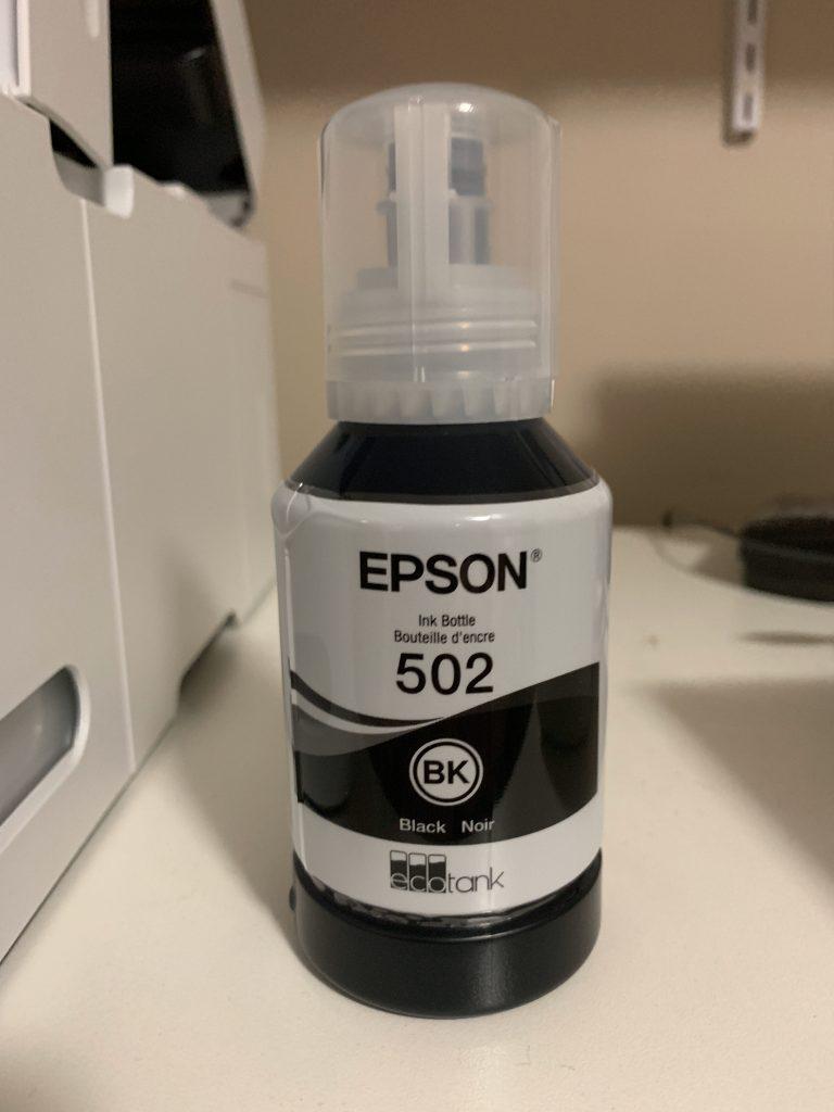 Epson 502 Ink Bottle - Black