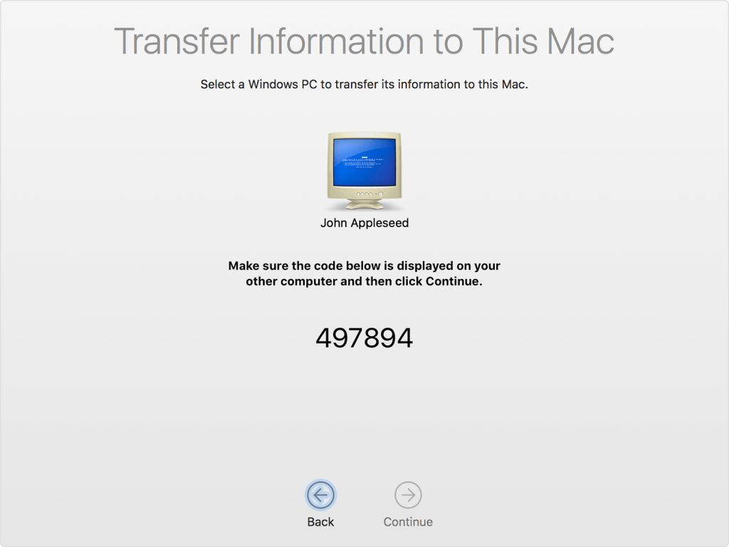 macos-sierra-migration-assistant-from-windows-pc-code