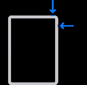 Restart iPad with FaceID