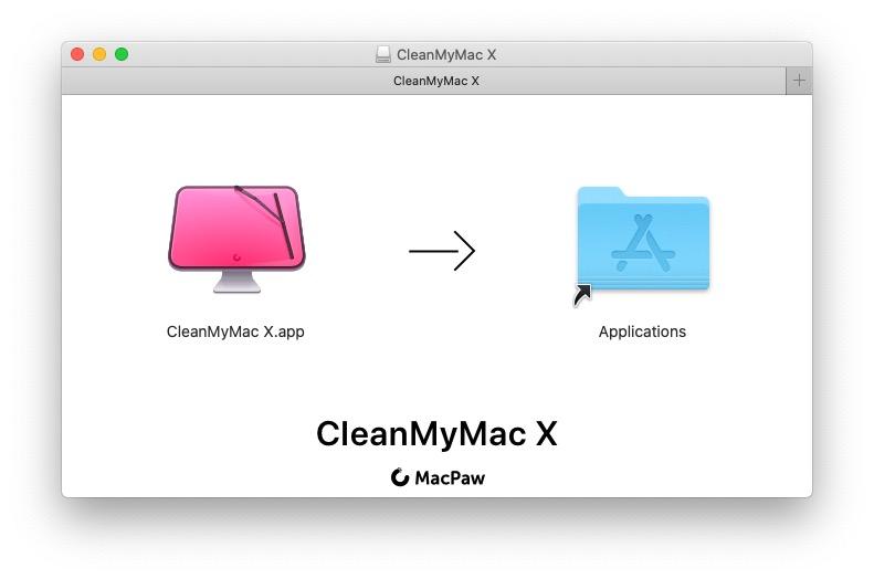 CleanMyMac X Install Screen