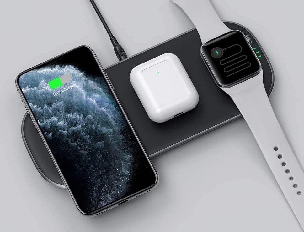 AUKEY LC-Q10 - 3 units charging