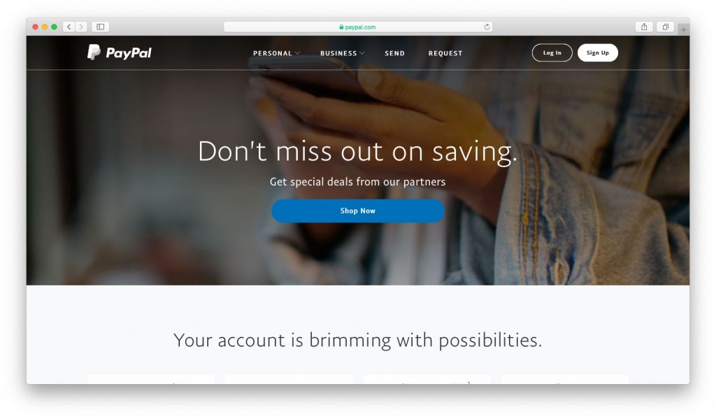 Fake PayPal Web Site