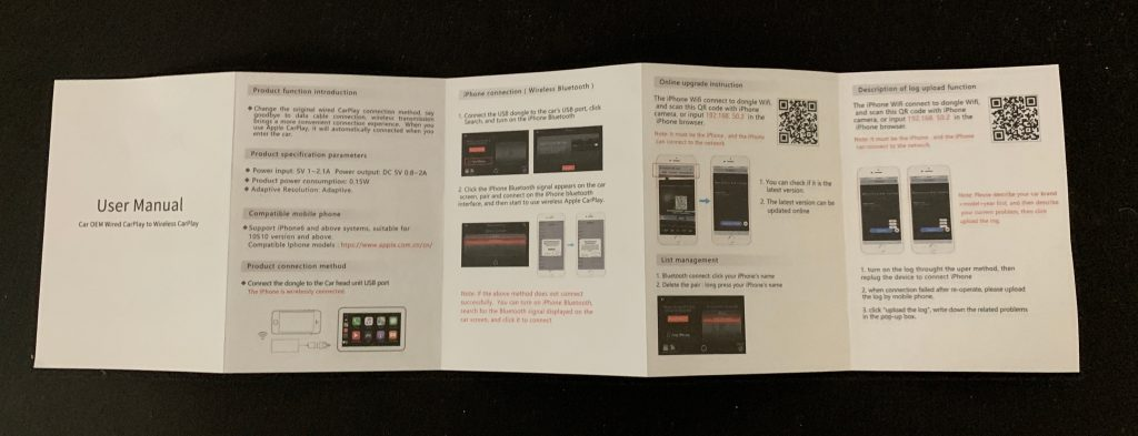CARPLAY2air User Manual