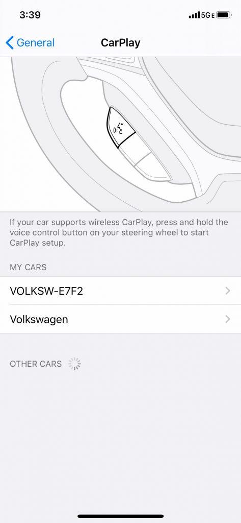 iPhone CarPlay Uninstall