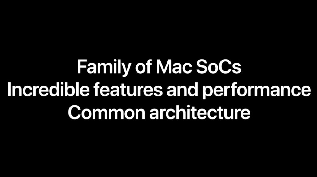 Apple Soc