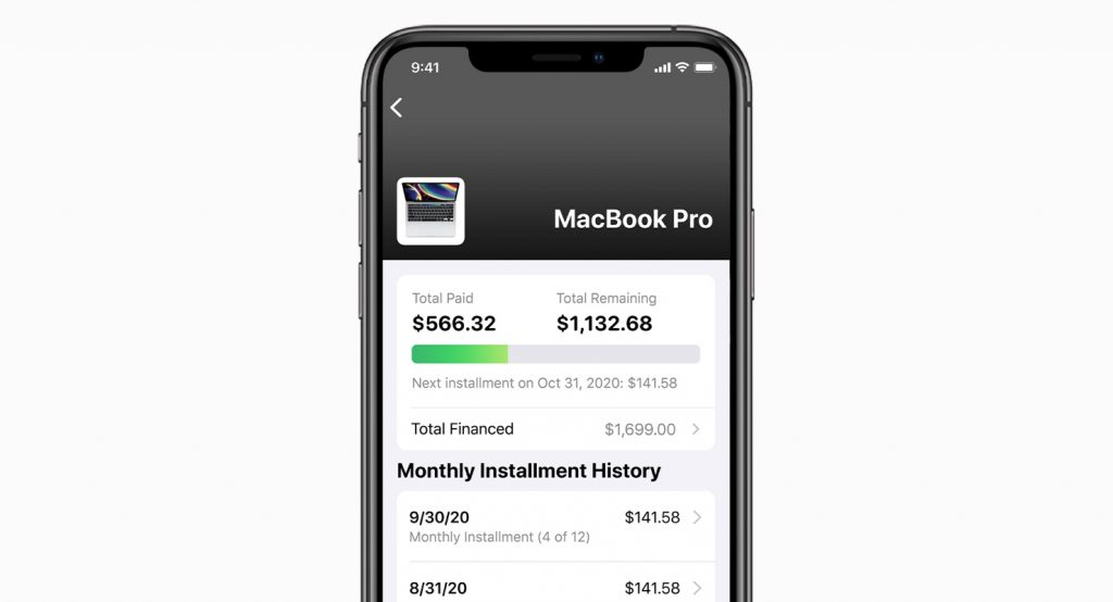 Apple Zero Interest iPhone Screen
