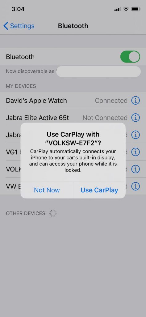 CARPLAY2air Install Screen