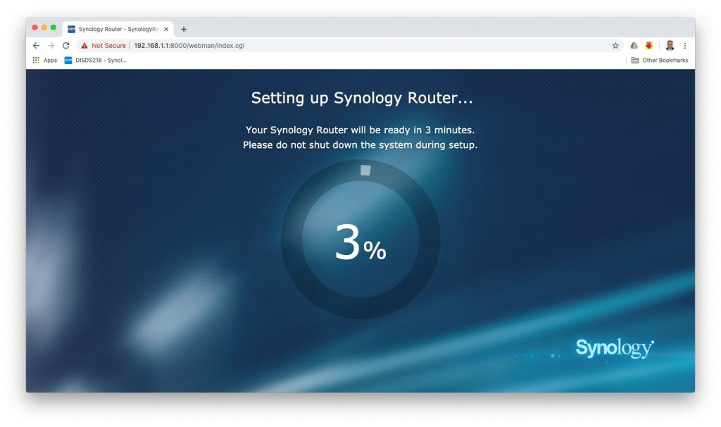 Synology Router Set-up 5