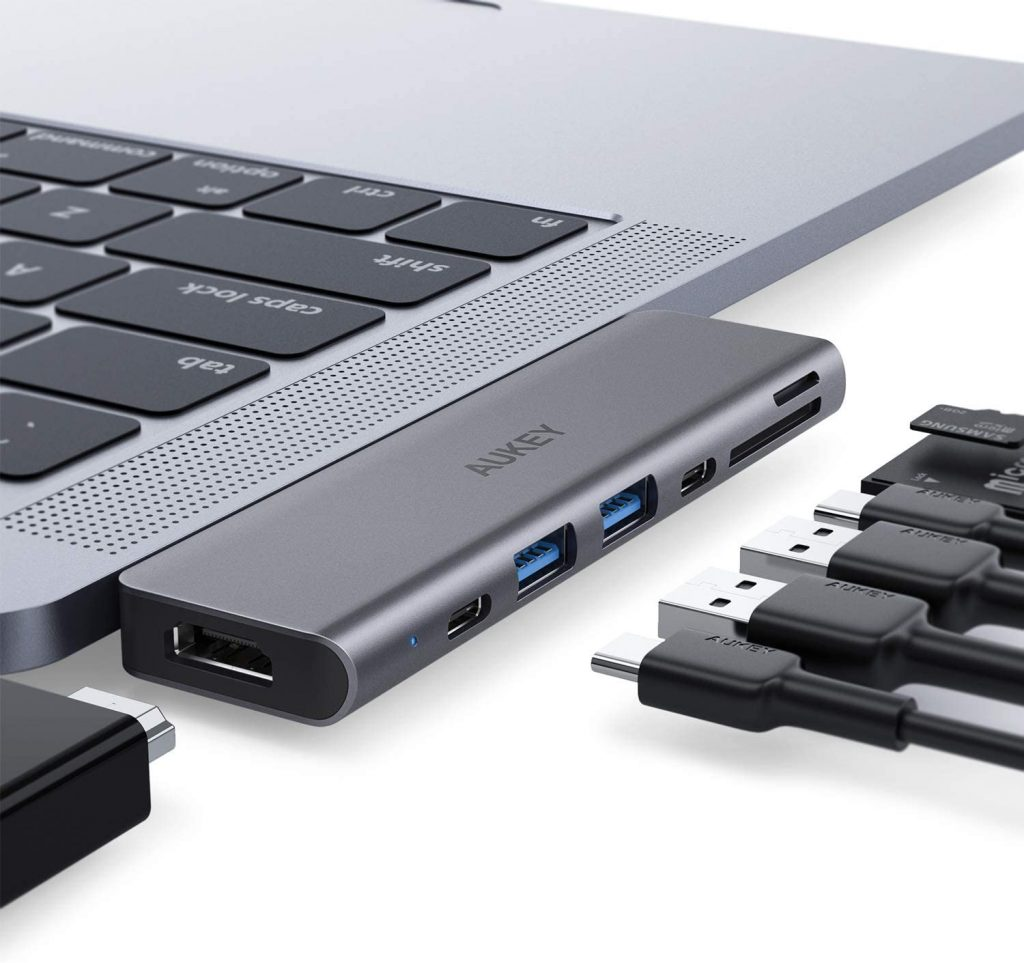 AUKEY CB-C76 Multiport USB-C Hub