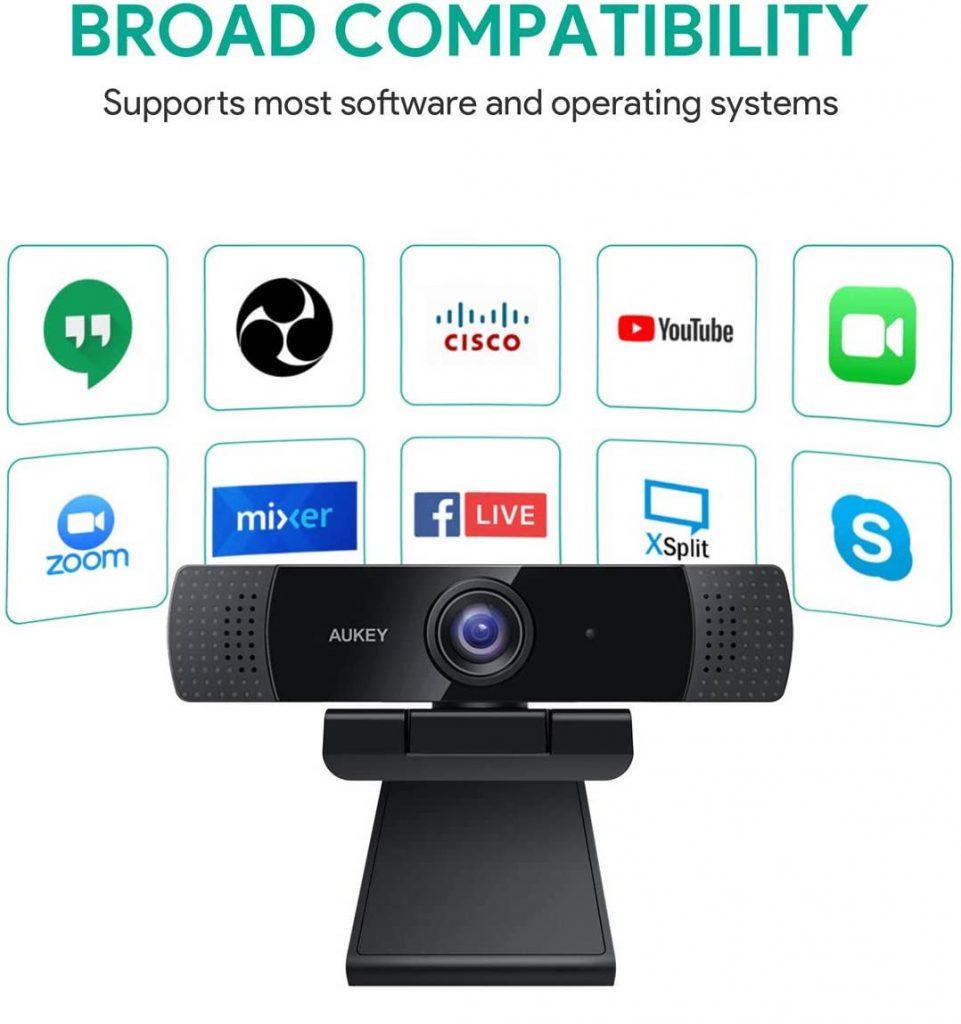 AUKEY PC-LM1E Webcam - Compatibility