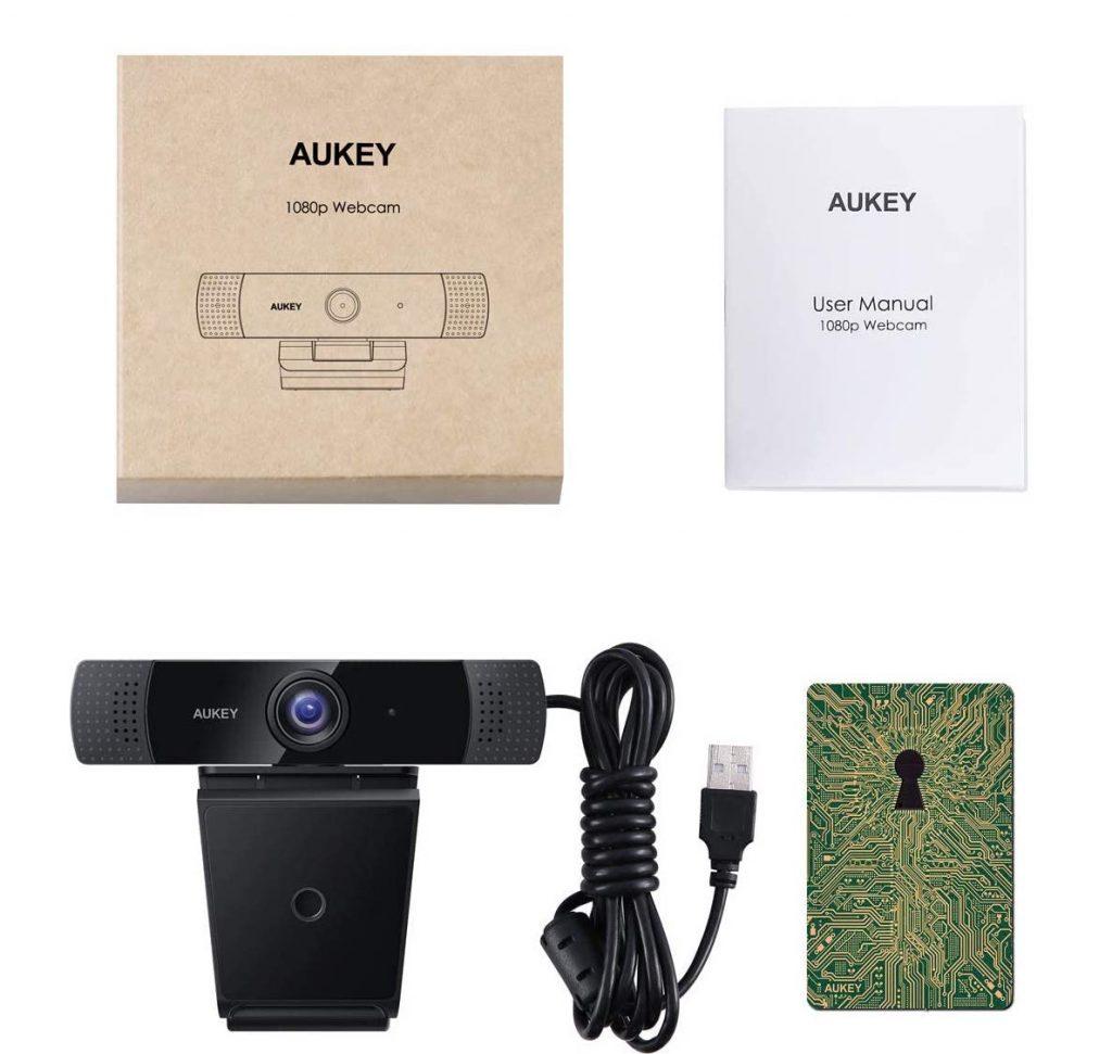 AUKEY PC-LM1E Webcam - Unboxing